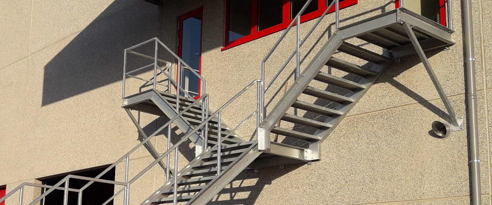 Industriële trappen - Jeffrey Van den Broeck BVBA