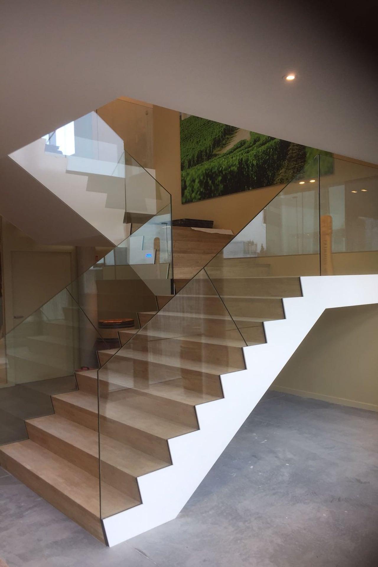 Realisaties trappen - Jeffrey Van den Broeck BVBA